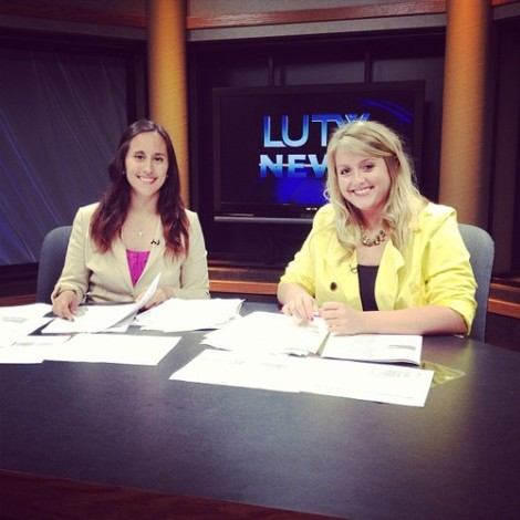 Anchoring with my best friend, Brittany. I can't wait to see how far we both go.
